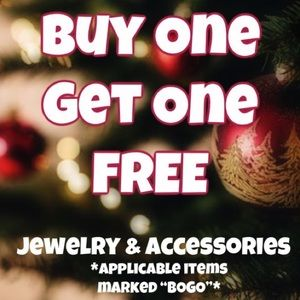 Buy One Get One Free Accessory & Jewelry Sale
